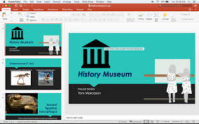 Powerpoint History History Museum Powerpoint Tom Marcasons Digital Portfolio