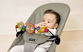 Amazon.com : BABYBJORN Wooden Toy for Bouncer - Googly Eyes : Infant ...