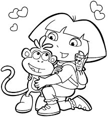 Small Picture cartoon coloring pages pdf Archives Best Coloring Page