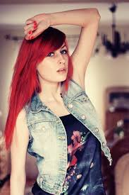 tips red hair colors cherry red hair kat von d