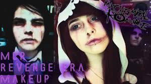 mcr gerard way revenge era makeup tutorial you