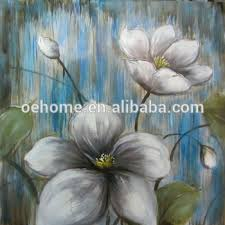 <b>100</b>% <b>Hand Painted Top Quality</b> Modern Flower Oil Painting,Fine Art ...