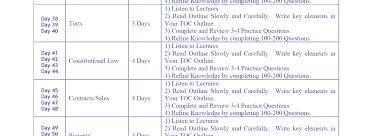 california bar review course and bar exam prep bar review bar exam study schedule