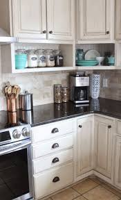 Backsplash Without Upper Cabinets Small Apartment Kitchen Cutlery