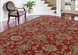 Treadway Red Area Rug