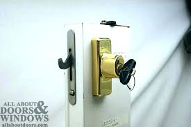 andersen sliding door lock sliding door lock with key sliding glass door keyed locks door sliding