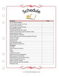Blank Wedding Planning Checklist Wedding Planner Outline Under Fontanacountryinn Com