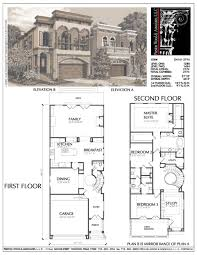 Narrow Home Plans Designs Pin On House Plans