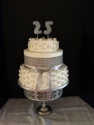 25th Anniversary Cake Cakecentralcom