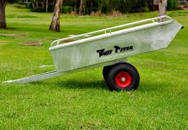 large ride on lawn mower trailer