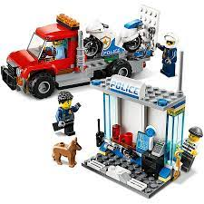 Đồ Chơi Lắp Ráp Lego City Thùng Gạch Cảnh Sát 60270 (301 Chi Tiết) | Châu  Khang
