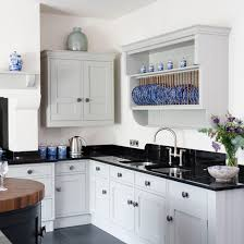 black and white kitchen with chinoiserie black and white kitchens 10 of the best