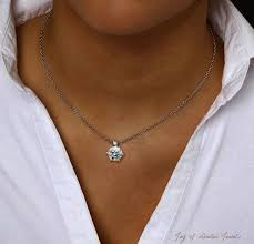 costco jewelry diamond necklace plus