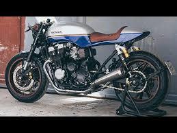 hand built honda cb750 cafe racer you