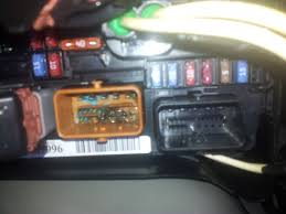 vehicle electric repairs car electrical faults car diagnostics citreon c3 fusebox water damage