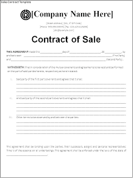 House Contract Form Sample Purchase Contract Form 7 Free Documents In Word House
