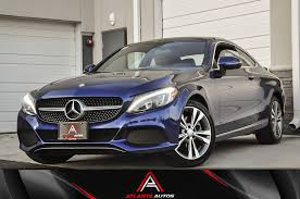 All vehicles are purchased as is without any warranty. Used 2017 Mercedes Benz C300 4matic Coupe For Sale 30 999 Atlanta Autos Stock 410791