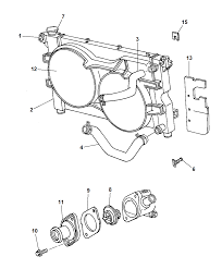 Suzuki Forenza Radiator Diagram
