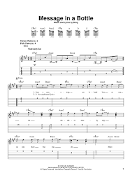 wagon wheel sheet music message in a bottle sheet music music for piano and more