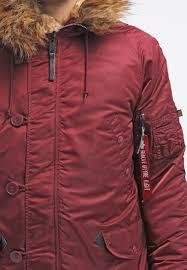 alpha industries winter jacket burdy men clothing jackets alpha industries m65 slim fit