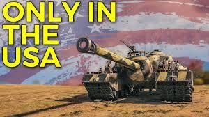 World of Tanks American Tanks Gameplay