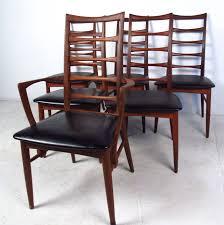 set of ladder back dining chairs by koefoeds hornslet at 1stdibs