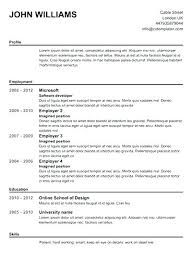 How To Make A Resume For Free Perfect Resume