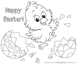 Easter Coloring Pictures Freel