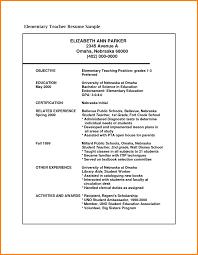 Lecturer Resume Objective Teacher College Professor Examples