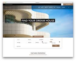 real state template 14 best free real estate website templates 2019 colorlib
