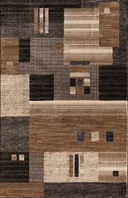 area rugs arreola modern quilt gray brown area rug