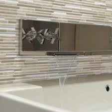 Decorative Wall Tiles Bathroom Smart Tiles Wall Decor Decor The Home Depot