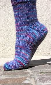 Sock Knitting Pattern Amazing Worsted Weight Sock Pattern ToeUpTopDown KnitFreedom