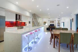 Modern Galley Kitchen Home Priority Galley Kitchen Design Ideas With Dominant White Palette