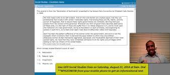 ged help social studies class sat aug