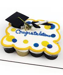 Cupcake Cake Graduation Dots Cpc2 Dierbergs Markets