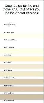 Tec Grout Color Chart Tec Tile Grout Wellworx Co