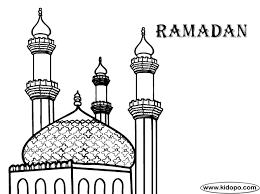 Ramadan Mubarak Coloring Pages Getcoloringpagescom