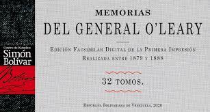 Memorias De O'leary