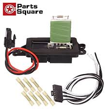 amazon com heater blower motor resistor 89019100 with plug  at Ac Blower Resistor Motor Wire Harness 2006 Chevy Trailblazer