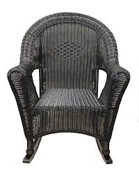 lb international black resin wicker rocking chair patio black wicker rocking chairs