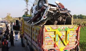 The largest earthquake in pakistan: 21 Students Killed In School Bus Truck Accident In Nawabshah Trucks School Bus School