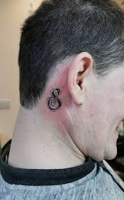 Music is more than the notes and song lyrics, music has meaning and gives life purpose for. 185 Trendy Behind The Ear Tattoos And Ideas Tattoo Me Now