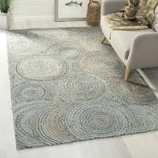 blue jute rug hand woven cape cod natural blue jute rug blue jute area rug