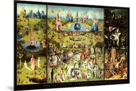 garden of earthly delights poster. Hieronymus Bosch Garden Of Earthly Delights Art Print Poster O