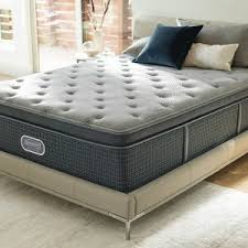 Bedroom Simmons Beautyrest Plush With Memory Foam Mattress