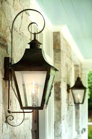 gas lamp lantern french lanterns with copper curls lighting lights and exterior outdoor style light fixtures magnificent outdoor hanging lantern