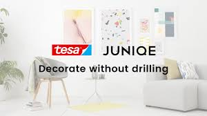 how to hang display wall art without drilling 5 great ideas juniqe x tesa tutorial you