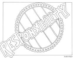 Coloring page with educational implication is a real treasure for parents: Word Coloring Pages Doodle Art Alley