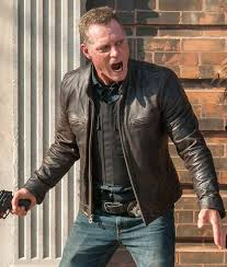 jason beghe chicago pd tv series leather jacket